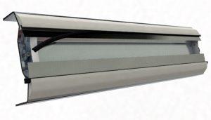 Sistema patentado de fijación de racla
